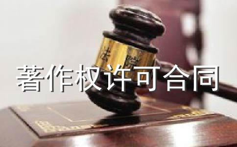 著作权许可使用协议(二)
